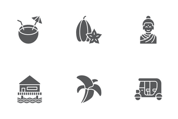 Thailand Culture Icon Pack