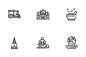 Thailand National Icon Pack