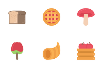 Thanksgiving - Flat Icon Pack