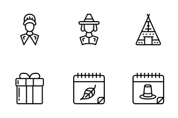 Thanksgiving - Outline Icon Pack