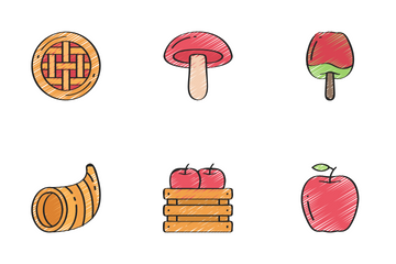 Thanksgiving - Sketchy Icon Pack