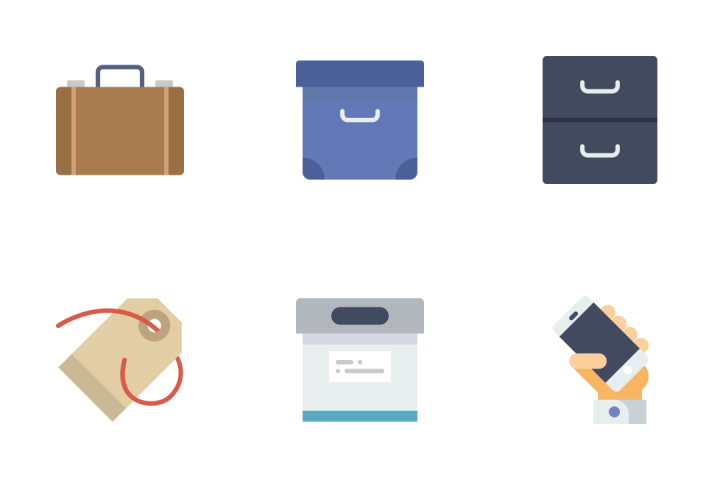 The Essential - Flat Icon Pack