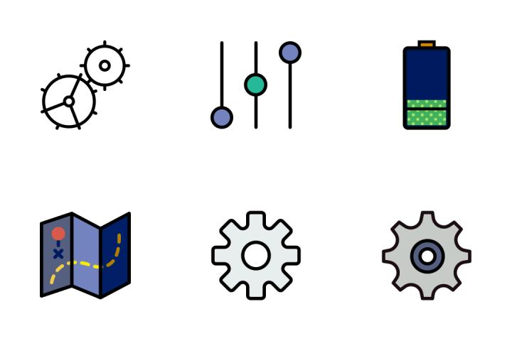 The Essentials 3 - Retro Icon Pack