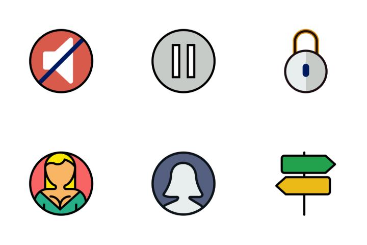 The Essentials 5 - Retro Icon Pack