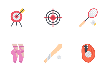 The Sport Equipment Icons Icon Pack
