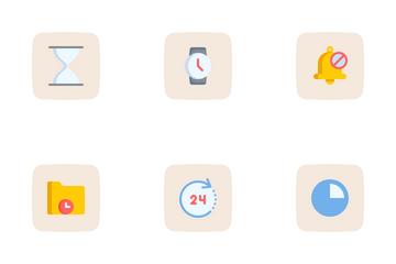 Time And Date Icon Pack