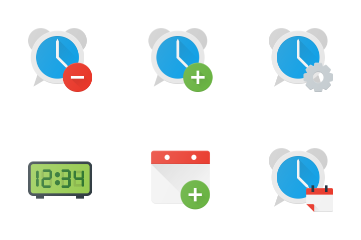 Time & Calendar Icon Pack