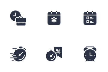 Time & Events Icon Pack