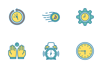 Time Management Icon Pack