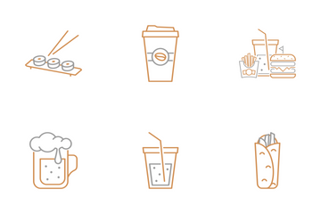 Tiny Little Fast Food Icon Pack