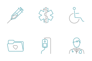 Tiny Little Medical Icon Pack
