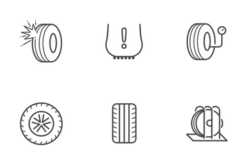 Tire Icon Pack