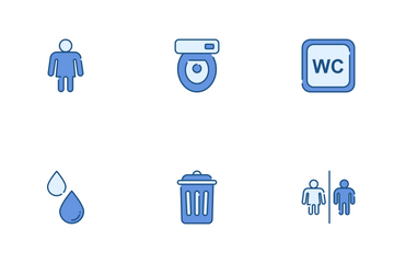 Toilet Icon Pack