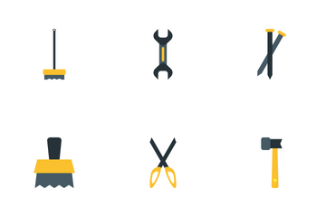 Tools And Cleaner Icon Pack