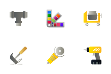 Tools And Construction Icon Pack