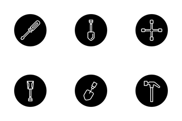 Tools And Equipment Icon Pack