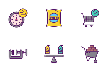 Tools And Materials Icon Pack