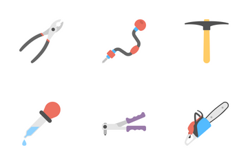 Tools Flat Icons 2 Icon Pack
