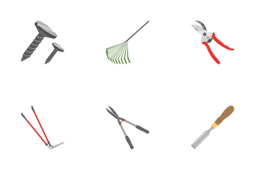 Tools Flat Icons Icon Pack