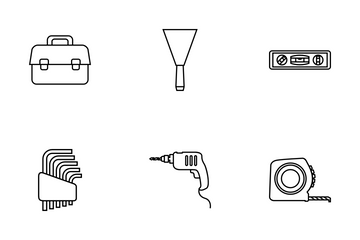 Tools Line Icon Pack