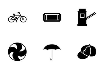 Travel Solid Black Icons Icon Pack