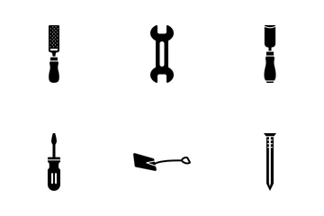 Tools Solid Icons Icon Pack