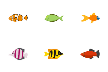 Topical Fish Icon Pack