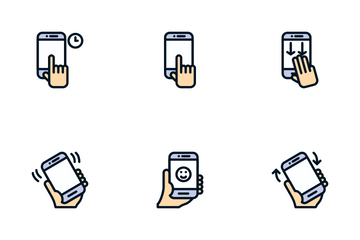 Touch Gesture Icon Pack