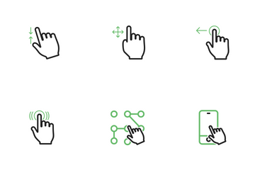 Touch Gestures Icon Pack
