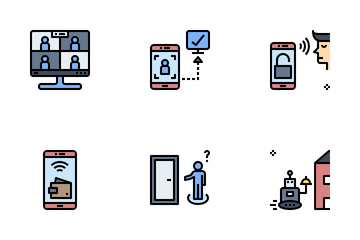 Touchless Society Icon Pack