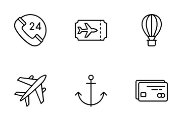 Tour And Travel Icon Pack