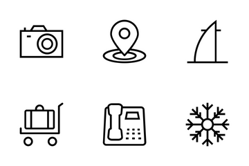 Tourism Icon Pack