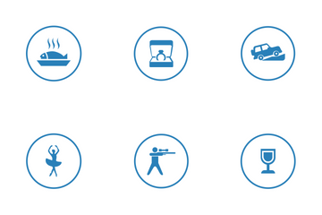 Tourism Interests  Icon Pack