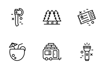Tourism & Travel Icon Pack