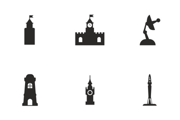 Tower Icon Pack