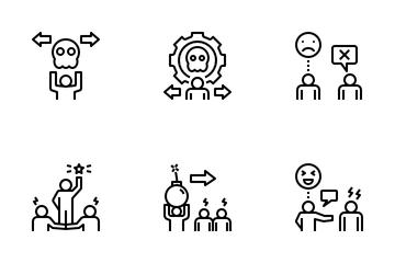 Toxic Behavior Icon Pack