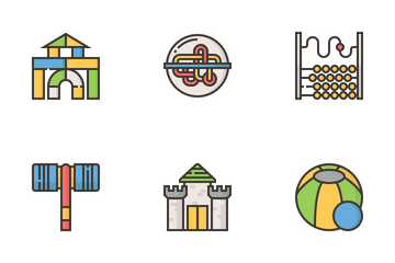 Toy Elements Icon Pack