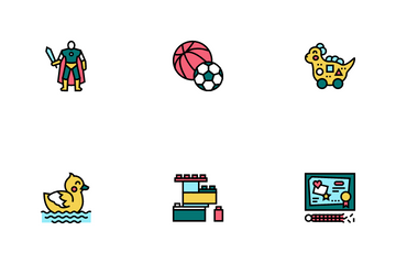 Toy Shop Sale Product Icon Pack