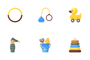 Toys And Childhood Icon Pack