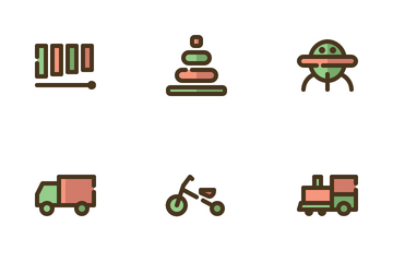 Toys & Childhood Icon Pack