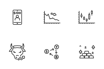 Trading Icon Pack