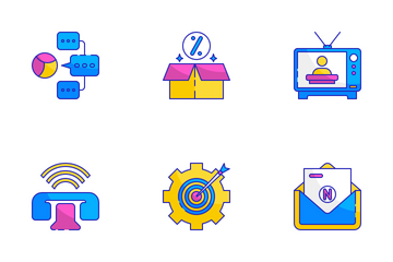 Traditional Marketing Icon Pack