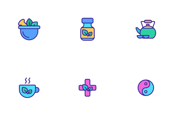 Traditional Naturopathy Icon Pack