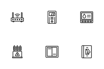 Traditional Sensor Icon Pack