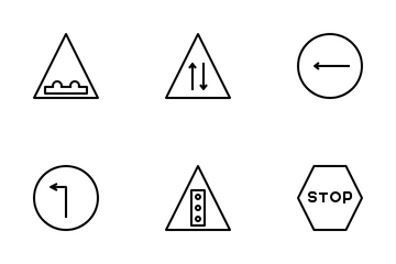 Traffic Sign Icon Pack
