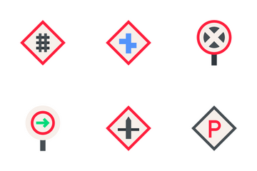 Traffic Signs Icon Pack