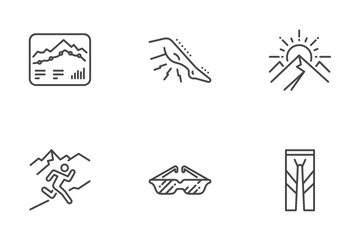 Trail Running Icon Pack