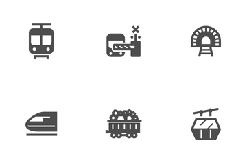 Train Icon Pack