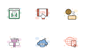 Training Courses Icon Pack