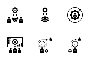 Training Management System Icon Pack